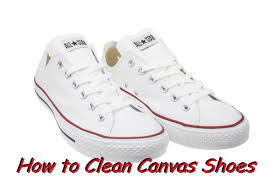 hd how to clean canvas shoes converse vans toms free youtube