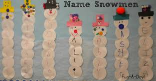 15 name activities for preschoolers