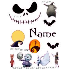 nightmare before cranial band decoration from high