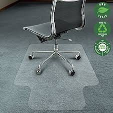 Floor Mats For Office Chairs Amazon Com Office Marshal Chair Mat For Carpet With Lip Eco