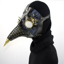 plague doctor s mask black gold leather plague doctor mask madburner