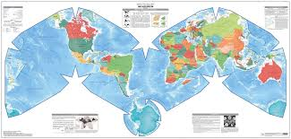 Wold Map Cahill Keyes World Map Poster