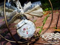 loves to create hybrid christmas ornament
