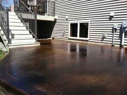 Concrete Stain Colors For Patios Black Acid Stain Photo Gallery Directcolors Com