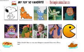 Meme Edit - top ten hungriest characters meme edit by tatsunokoisthebest on