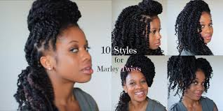 pictures of marley twist hairstyles 10 styles for marley twists youtube
