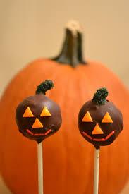 growing up veg pumpkin and cat halloween cake pops