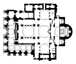hagia sophia floor plan of hagia sophia archnet hagia sophia