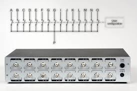 1 to 15 single bnc switch bnc xlr coaxial switch boxes w remote