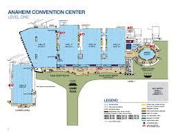 exhibit hall capacities anaheim ca official website