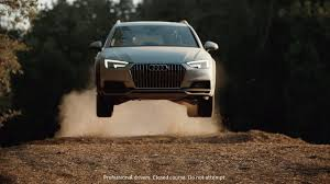 audi commercial audi usa u0027s 2017 a4 allroad commercial shows rallycross action and