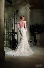 mori bridal mori bridal 2725 lace sleeve wedding dress