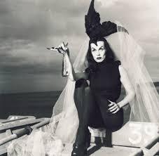Goth Look For Halloween by Meet Maila Nurmi Aka Vampira Our Proto Goth Halloween Style Icon