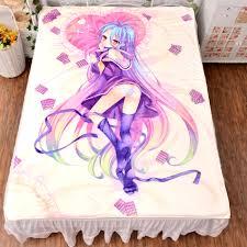 no game no life aliexpress com buy anime no game no life shiro bed bedding sheet