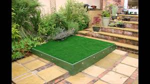 lawn garden unusual small gardens design ideas with l shape pallet
