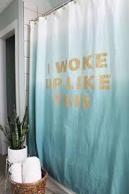Can I Put A Shower Curtain In The Washing Machine Statement Shower Curtain Diy U2013 A Beautiful Mess