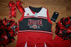 Maryland travel kits images Cheerleader costume outfit university of maryland terrapins 5 6 jpg