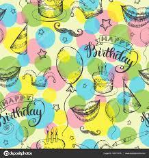 imagenes de cumpleaños sin letras patrón sin costuras feliz cumpleaños vector de stock ola ola