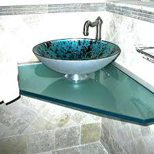 Glass Vanity Tops Glass Vanity Tops For Bathrooms Glass Counter Top With Glass