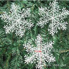 the glass christmas ornaments shop stickers christmas snowflake 11
