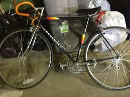 peugeot bike green just bought a used peugeot bike help bike forums