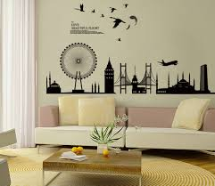 beautiful living room wall decals stickers cabinet hardware room