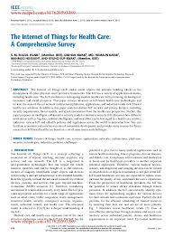 top 107 smart home u0026 iot websites the internet of things for health care a comprehensive survey