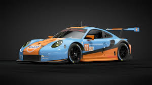 gulf racing gt sport gulf racing porsche 911 rsr livery youtube