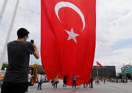 Turkey National Flag Erdogan Supporters On The Streets Of Turkey Turkey Al Jazeera
