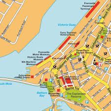 Washington Ferry Map Fremantle Perth Western Australia Cruise Ship Schedule