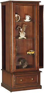 american classics gun cabinet amazon com american furniture classics 611 10 gun curio slider