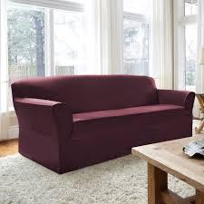 Sure Fit Cotton Duck T Cushion Sofa Slipcover by Living Room T Cushion Sofa Slipcovers Target Sure Fit T Cushion