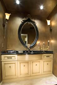 bathroom accessories metal frame mirror bath renovations antique