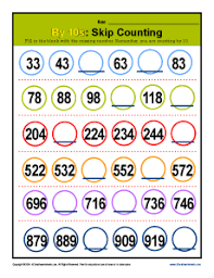 skip counting by 10 patterns 2nd grade math practice