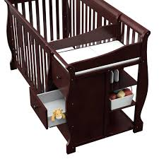 Storkcraft Portofino Convertible Crib And Changer Combo Espresso by Dresser Medium Size Of Blankets Swaddlings Storkcraft Portofino