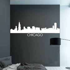 chicago skyline wall decal item 0207 zoom