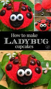 Ladybug Home Decor Top 25 Best Ladybug Cupcakes Ideas On Pinterest Fun Holiday