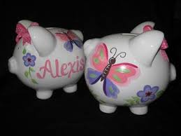 customized piggy bank a customized piggy bank gifts for newborns and babies keepsakes