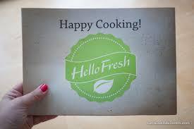 abonnement box cuisine j ai testé la box cuisine hello fresh la cuisine du jardin