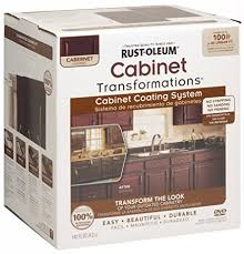 rust oleum 263233 cabinet transformations small kit cabernet