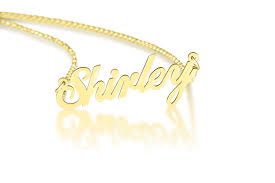 Gold Personalized Name Necklace Name Necklace Personalized 1 6 U0027 U0027 Nameplate Necklace Any Name