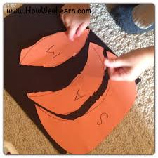 Halloween Pre K Crafts Halloween Preschool Crafts Pumpkin Name Puzzles How Wee Learn
