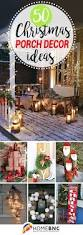 Outdoor Christmas Decorations Front Porch by Best 25 Outdoor Christmas Decorations Ideas On Pinterest
