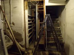 Cold Air Return Basement by Gear Acres Basement Stairs Demo Completed
