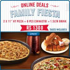 deals from dominos pizza pakistan tossdown official