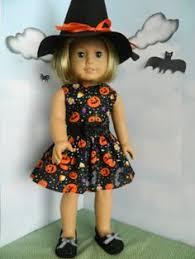 Halloween Costumes Dolls Fleece Pumpkin Costume 18 Dolls American Pumpkin