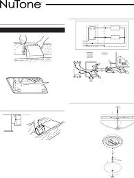 nutone exhaust fan wiring diagram images diagram design ideas