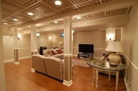 contemporary best lighting for basement best lighting for