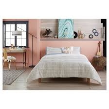 woven stripe comforter set xhilaration target