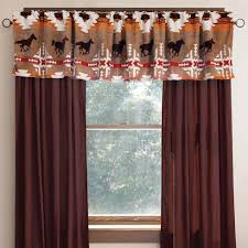 Vintage Cowboy Curtains by Cowhide Western Drapes Cabin Place